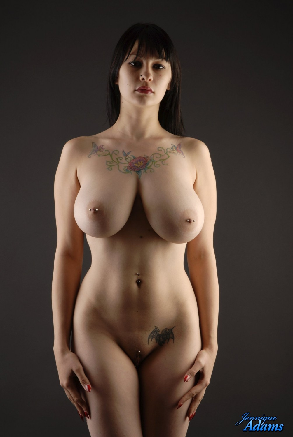 curvy pierced naked girl