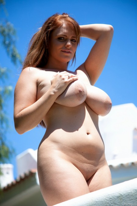 charley green great chubby curvy naked body and big boobs